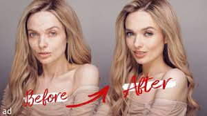 easy glam glowy makeup tutorial acne