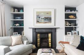 hanging mirrors or art above a fireplace