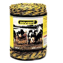 Electric Fence Wire Baygard Heavy Duty Polywire 1312 00122 Rona