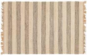 shirley jute rug gray cream 8 x 10