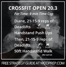 crossfit open 20 3 we ve seen this one
