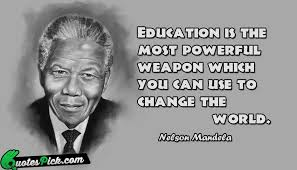 nelson mandela on education quotes quotesgram
