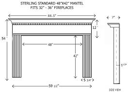 wood fireplace mantels builder