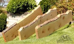 Makarios Decor Wood Slab Natural Live Edge Wood Slab