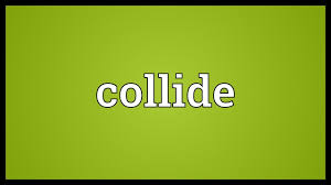 Image result for collided word