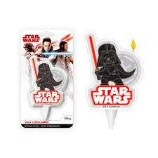 Vela Darth Vader Star Wars 2d Envio 24 Horas