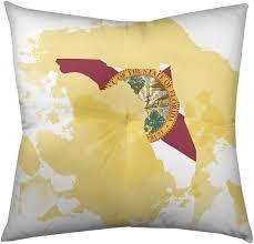 Amazon.com: ArtVerse Katelyn Smith Florida State Floor Pillow - Square  Tufted, 26 x 26, Watercolor: Home & Kitchen