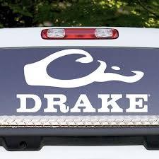 Drake Large Window Decal Drake Waterfowl