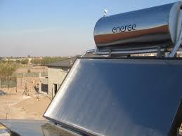 how to diy solar hot water heater for