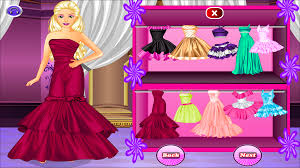 barbie dress up games free for