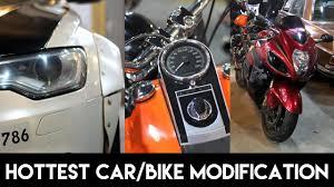 modification of car bikes in delhi
