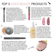 juice beauty favorites the