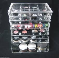 acrylic cosmetic organizer 7 drawer