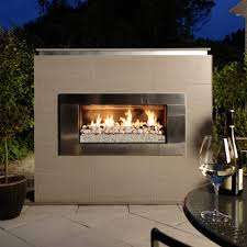 gas fires outdoor north city