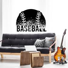 Baseball Wall Decal Labeldaddy