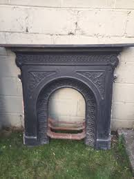 restoring a cast iron fireplace old