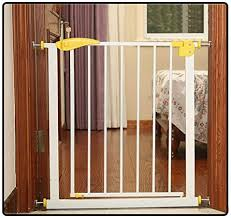 Qianda Baby Gates Extra Wide Pressure Gate Baby Safety Fence Room Divider Install Anywhere For Stairs Size 65 72cm Amazon Co Uk Kitchen Home
