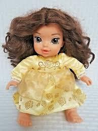 beast belle baby doll jakks pacific
