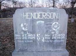 HENDERSON, WILLIAM C. - Newton County, Arkansas | WILLIAM C. HENDERSON -  Arkansas Gravestone Photos