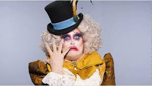 sherry pie mad hatter drag makeup