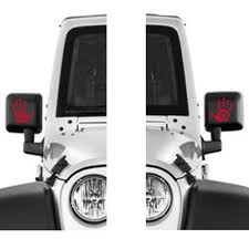 Pair Jeep Wave Vinyl Decal Jeep Wrangler Decal