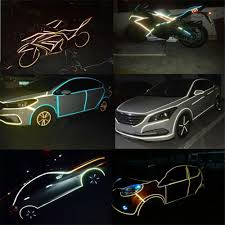 Reflective Tape Car Funny Decal Diy Light Luminous Warning Safety Glow Dark Night Adhesive Tapes Sticker Car Bicycle Accessories Buy At The Price Of 1 08 In Aliexpress Com Imall Com