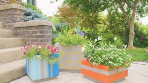 make large outdoor planter bo from