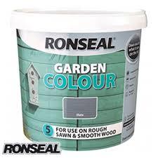 Buy Ronseal Garden Colour Slate 5l At Home Bargains