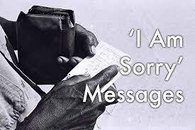 i m sorry messages for him and her 40