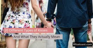 kisses and what they actually mean
