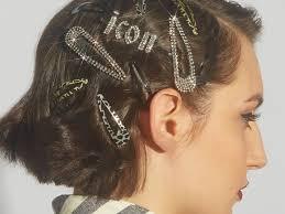 trendy hair clip accessories makeup