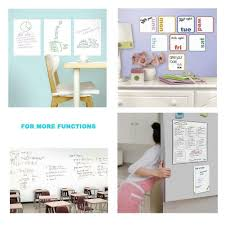 Kindax Dry Erase Wall Decal Kindax Self Adhesive Wall Sticker Wall Paper Whiteboard St