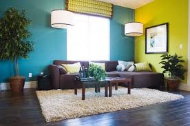 wall colour combination for small