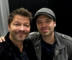 """Misha Collins on Twitter: """"I met this guy backstage at #MCMLondon ..."""