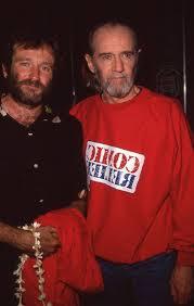 George Carlin & Robin Williams, 1990 | Robin williams, George ...