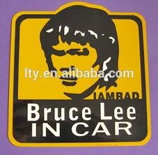 Creative Design Bruce Lee In Car Window Pvc Sign Buy Creative Design Pvc Sign Bruce Lee In Car Sign Window Pvc Sign Product On Alibaba Com