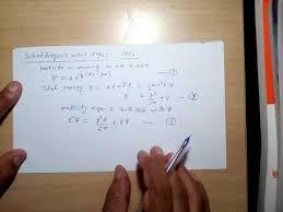 wave equation quantum physics
