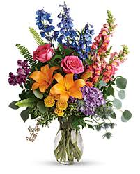 rainbow bouquet in decorah ia