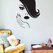 Sexy Women Wall Stickers Creative Spa Beauty Salon Wall Decor Beautiful Girl Hands Nails Wall Decals Art Decals Art Decals For Walls From Moderndecal 10 39 Dhgate Com