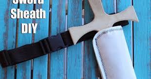 play sword sheath and belt diy