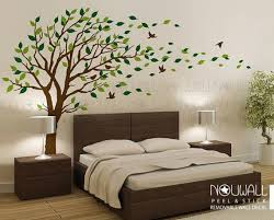 Removable Windy Tree Wall Decal Living Room Bedroom Wall Etsy