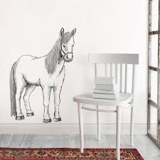 Wall Pops White Saddle Up Wall Decal Dwpk2845 The Home Depot