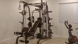 Marcy Smith Cage Workout Machine Review - YouTube