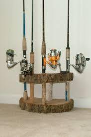fish rod holder diy rustic house