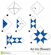 origami lily flower tutorial how to