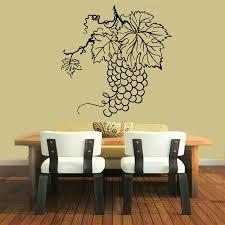 Shop Black Grapes Wine Vinyl Sticker Wall Art Overstock 10157108