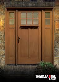 this classic craft american style door