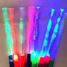 Đèn LED Sợi Quang Ánh Sáng Cây Đũa Phép Cơm Nguội nhiều Màu Sắc Magic Cổ