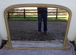 gilt gesso overmantle mirror 267573