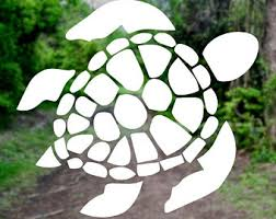 Sea Turtle Decal Etsy